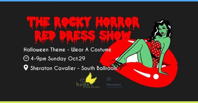 Rockey Horror Red Dress Show
